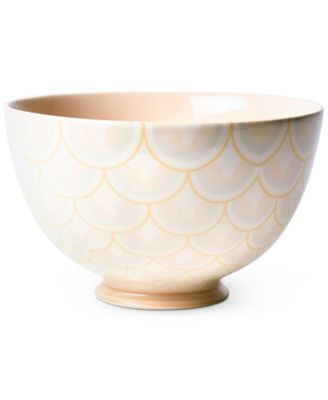 """by Laura Johnson Blush Layered Arabesque 9"""" Footed Bowl"""