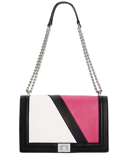 INC International Concepts INC Ajae Colorblock Flap Crossbody, Created For Macy's