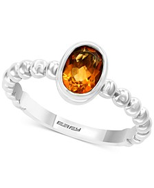 EFFY® Blue Topaz Bezel Statement Ring (1-5/8 ct. t.w.) in Sterling Silver (Also in Citrine)