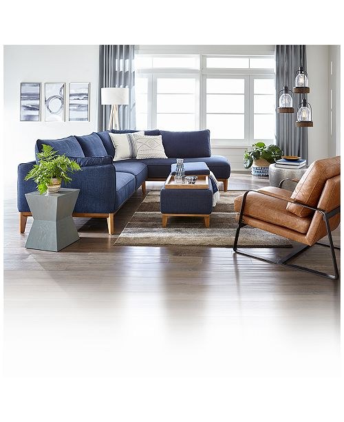 Furniture Jollene Fabric Sectional And Sofa Collection