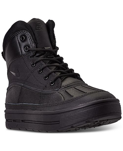 Nike Big Boys Woodside 2 High Top Boots from Finish Line