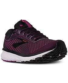 Women's Ghost 12 Wide Width Running Sneakers from Finish Line