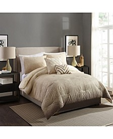 Modern Ombre Full/Queen 3 Piece Comforter Set