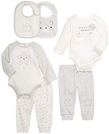Baby Unisex Moon & Stars Separates, Created for Macy's