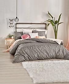 Home Velvet Tile Full/Queen Comforter Set