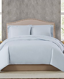 400TC Percale Cotton King Duvet Set