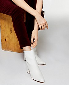 Meeko Block-Heel Booties