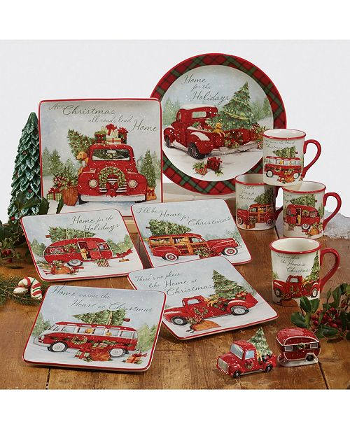 Certified International Home for Christmas Collection