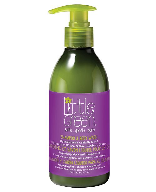 Little Green Kids Shampoo and Body Wash, 8 oz