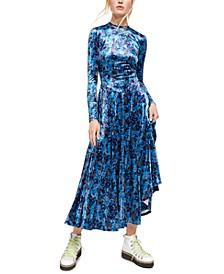 Heartland Velvet Midi Dress