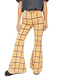 Just Float On Plaid Jeans