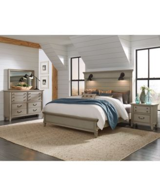 Sausalito Bedroom Furniture, 3-Pc. Set (King Bed, Nightstand & Dresser)
