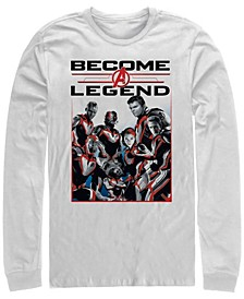 Men's Avengers Endgame Become a Legend, Long Sleeve T-shirt