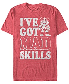 Men's Snow White and the Seven Dwarfs Grumpy's Got Mad Skills, Short Sleeve T-Shirt