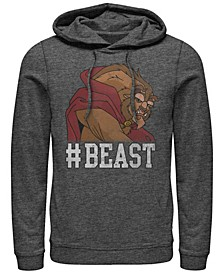 Men's Beauty the Beast Hashtag Beast, Pullover Hoodie