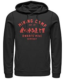 Men's Snow White Mining Camp Est. 37, Pullover Hoodie