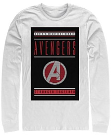 Men's Avengers Endgame Stronger Together, Long Sleeve T-shirt
