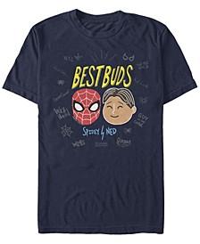 Men's Spider-Man Far From Home Best Buds, Short Sleeve T-shirt