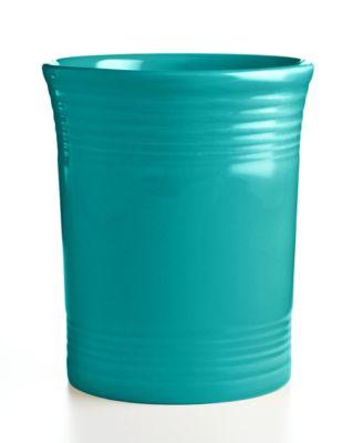Turquoise Utensil Crock