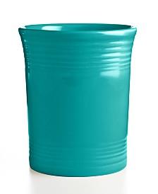 Fiesta Turquoise Utensil Crock