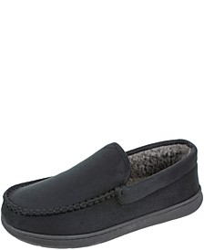 Men's Moccasin Slippers with Memory Foam