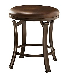 Awesome Hillsdale Villa Iii Vanity Stool Reviews Furniture Macys Ibusinesslaw Wood Chair Design Ideas Ibusinesslaworg
