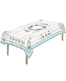 "Coastal Christmas Tablecloth -70""x 120"""