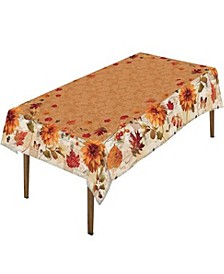 "Fall in Love Tablecloth - 70""x 84"""