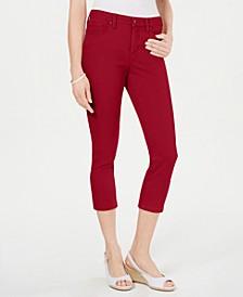 Tummy-Control Bristol Capri Jeans, Created for Macy's