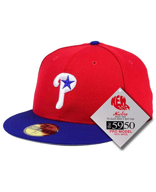 New Era Philadelphia Phillies Retro Classic 59FIFTY-FITTED Cap
