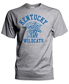 J America Men's Big & Tall Kentucky Wildcats Arch & Vintage Logo T-Shirt