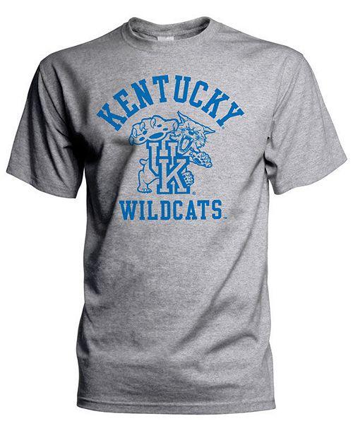 Top of the World J America Men's Big & Tall Kentucky Wildcats Arch & Vintage Logo T-Shirt