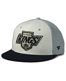 Los Angeles Kings Tri-Color Throwback Snapback Cap