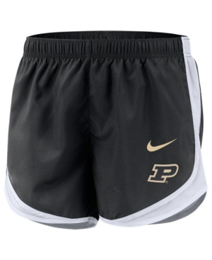 Nike Women's Purdue Boilermakers Tempo Shorts