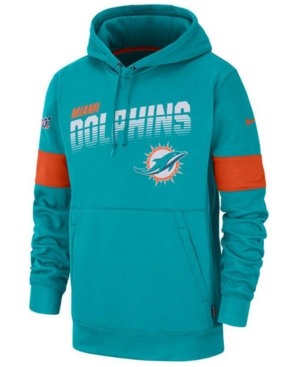 Nike Men's Miami Dolphins Sideline Line of Scrimmage Therma-Fit Hoodie