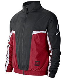 Men's Miami Heat Courtside Tracksuit Jacket
