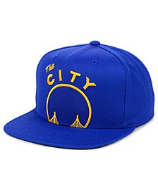 Golden State Warriors Hardwood Classic Cropped Snapback Cap
