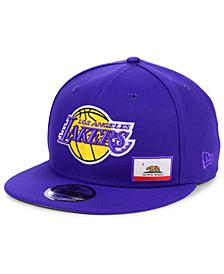 Los Angeles Lakers Flawless Flag 9FIFTY Cap