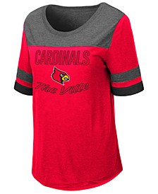 Women's Louisville Cardinals Romantic T-Shirt