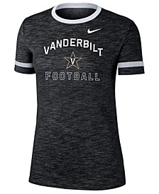 Women's Vanderbilt Commodores Slub Fan Ringer T-Shirt
