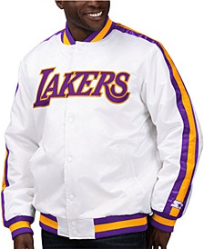 Men's Los Angeles Lakers The D-Line Starter Satin Jacket