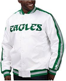 Men's Philadelphia Eagles The D-Line Starter Satin Jacket
