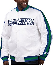 Men's Seattle Seahawks The D-Line Starter Satin Jacket
