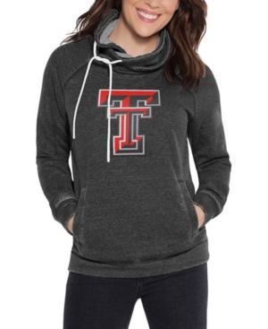 Touch by Alyssa Milano Women's Texas Tech Red Raiders Cowl Neck Sweatshirt