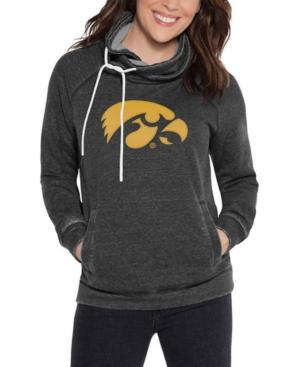 Touch by Alyssa Milano Women's Iowa Hawkeyes Cowl Neck Sweatshirt