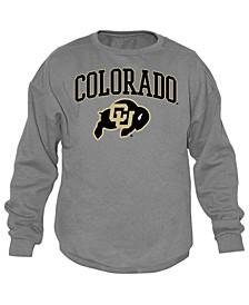 Men's Colorado Buffaloes Midsize Crew Neck Sweatshirt