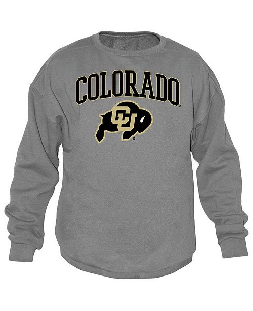 Top of the World Men's Colorado Buffaloes Midsize Crew Neck Sweatshirt