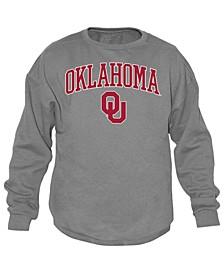 Men's Oklahoma Sooners Midsize Crew Neck Sweatshirt
