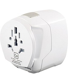 Worldwide Adapter + USB