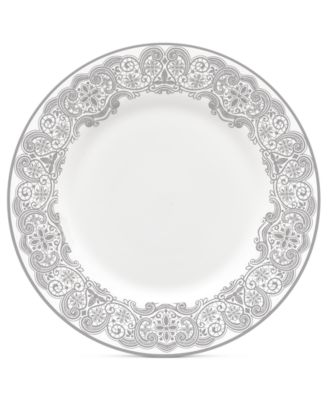 Lismore Lace Platinum Salad Plate